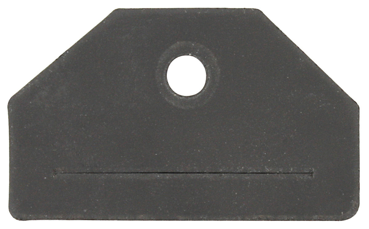 Gasket, Trunk Lock Retaining Clip, 1973-77 A-Body