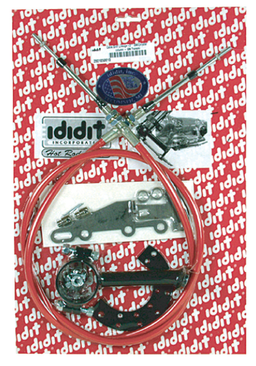 Shift Linkage Kit, Cable, Ididit, 1964-78 A-Body / 1978-88 G-Body, 2