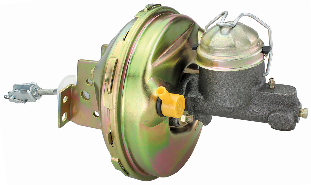 Brake Booster, 1964-66 A-Body, w/ Master Cylinder, Single Reservoir
