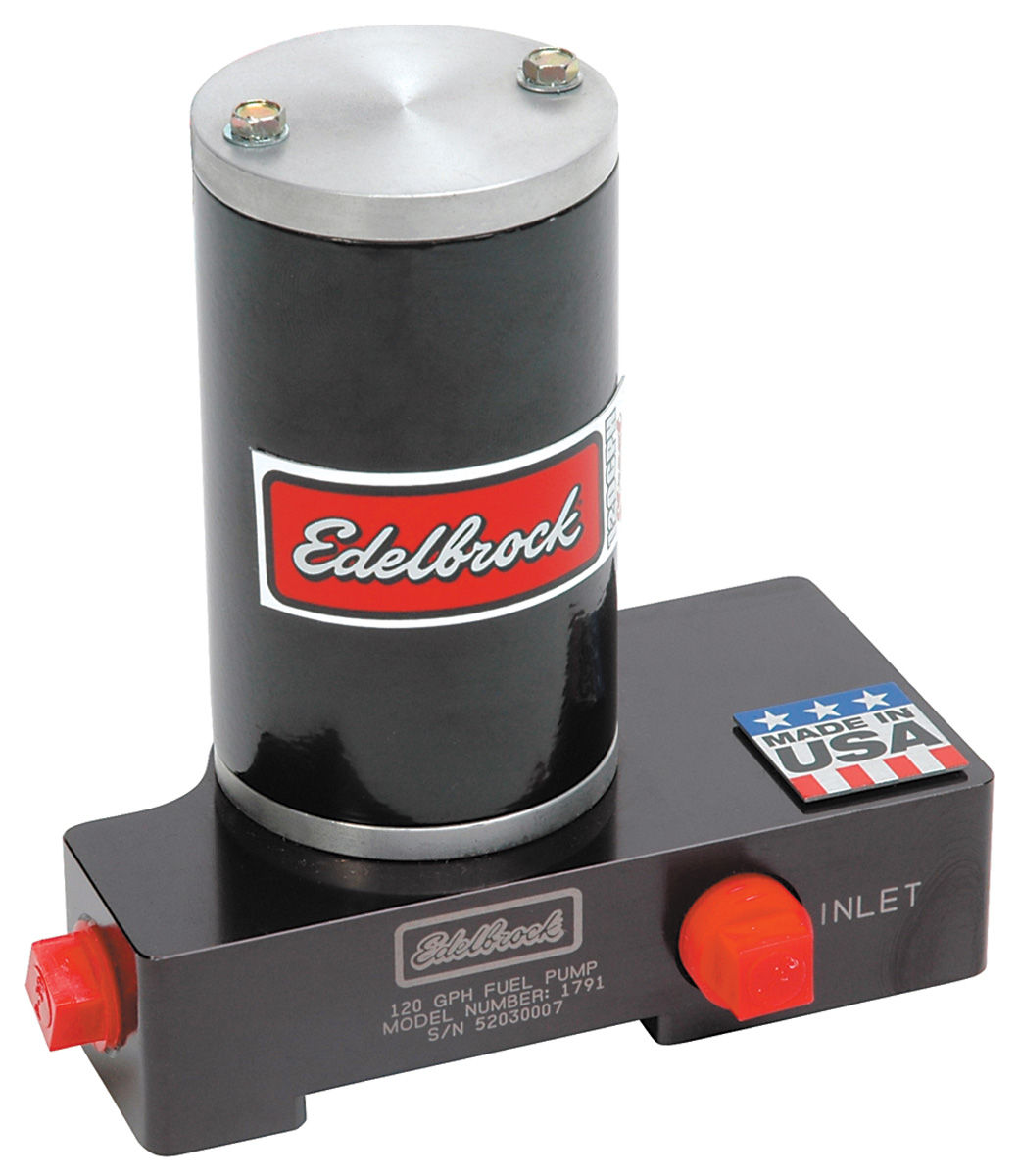 Fuel Pump, Electric, Edelbrock, 120 GPH