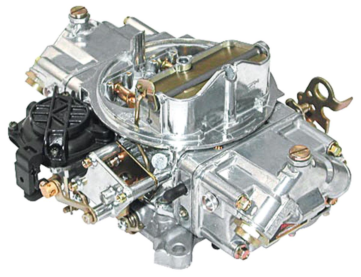 Carburetor, Holley, Street Avenger, 570 CFM, Manual Choke