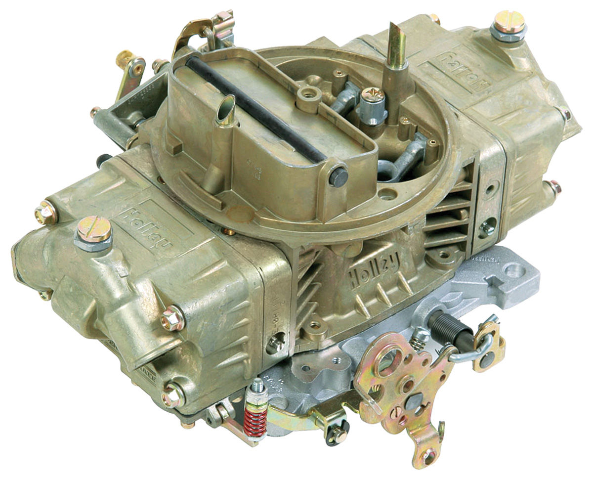 Carburetor, Holley, Mechanical Secondary/Manual Choke, 750 CFM, Gold Finish