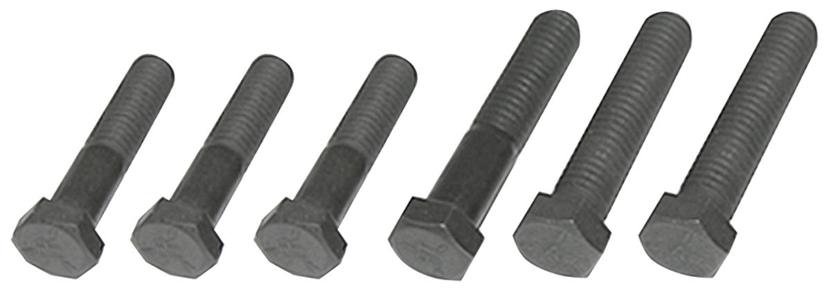 Bolts, 1964-79 Muncie 4spd, Tail Shaft to Main Case, 6-piece
