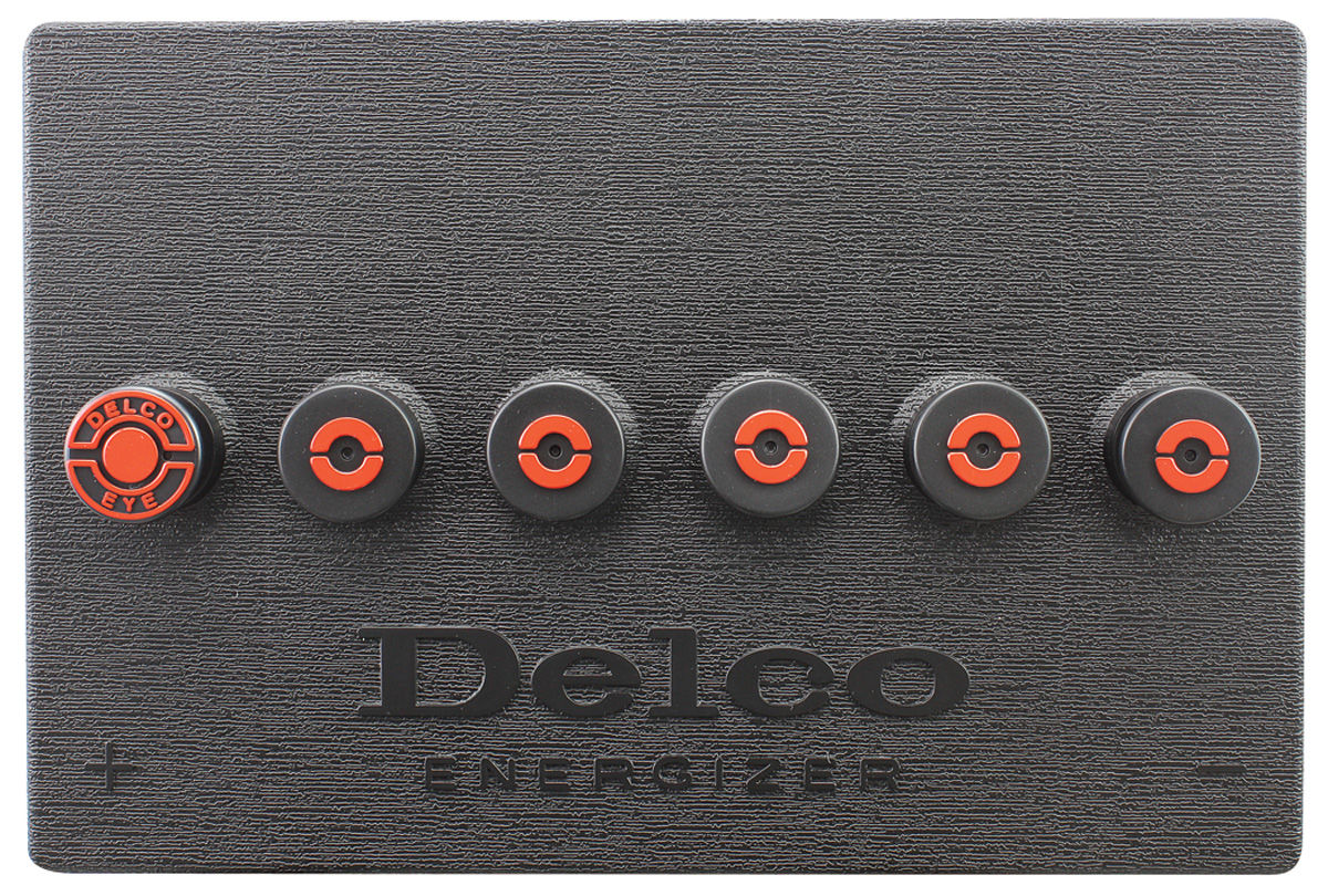Battery Cover, 1969-74 GM, Delco R-89, Sidepost
