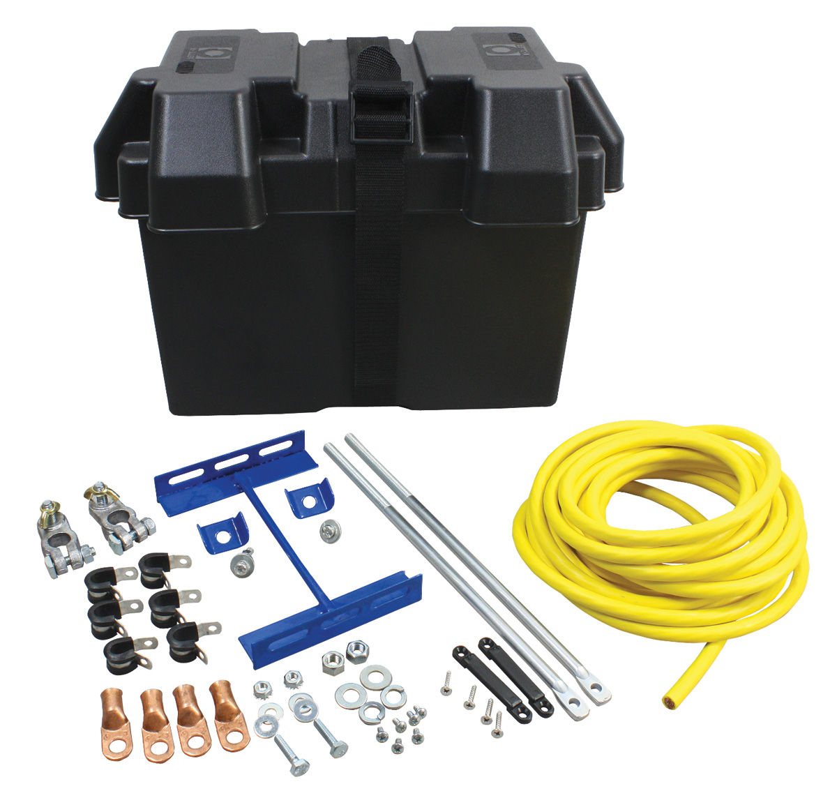 Battery Kit, Trunk Mount