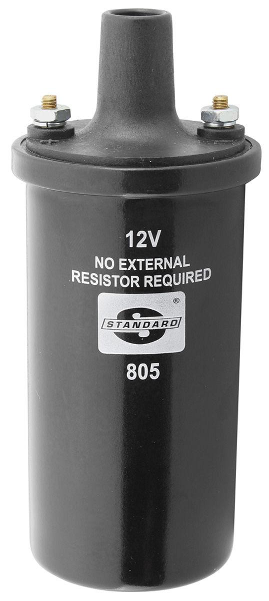 Ignition Coil, 1954-74 GM, 3.25 Ohms, w/ Internal Resistor