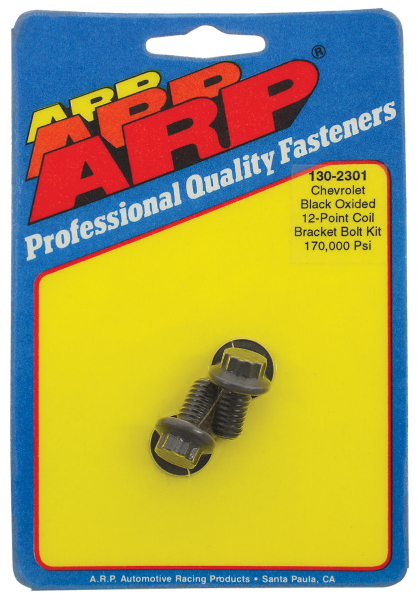 Bolt, Coil Bracket, ARP, Black, 12 PT