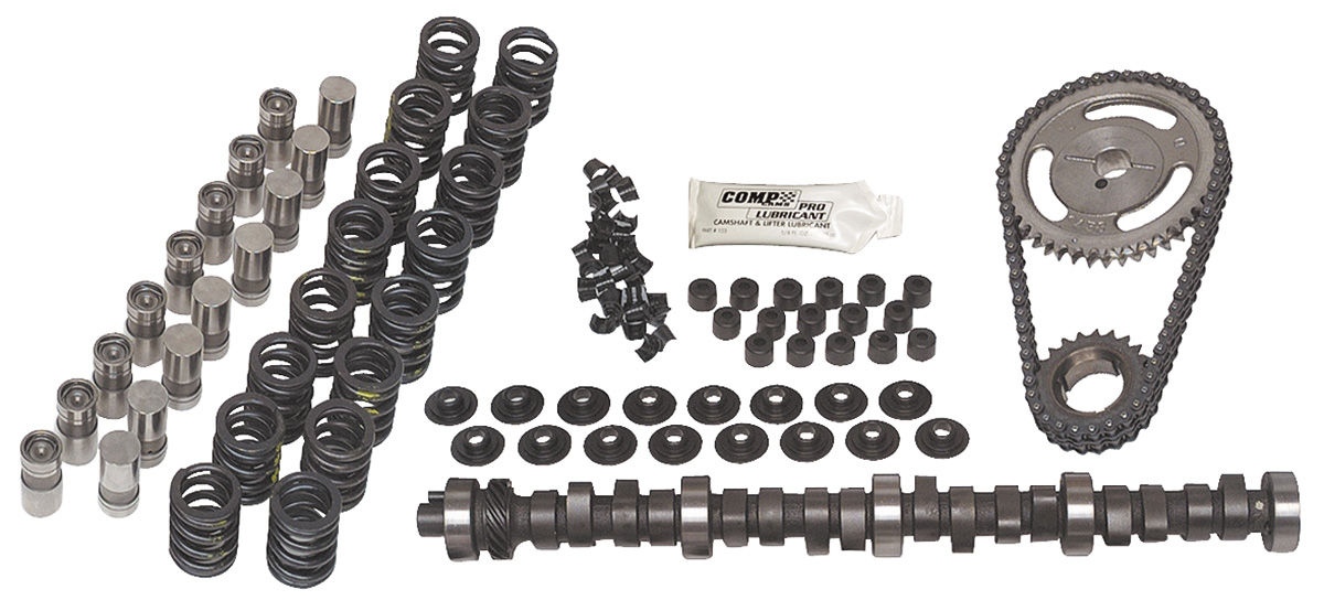 Camshaft, Comp Cams Xtreme Energy, K-Kit XE262H, Chevy SB, Hyd Flat Tappet