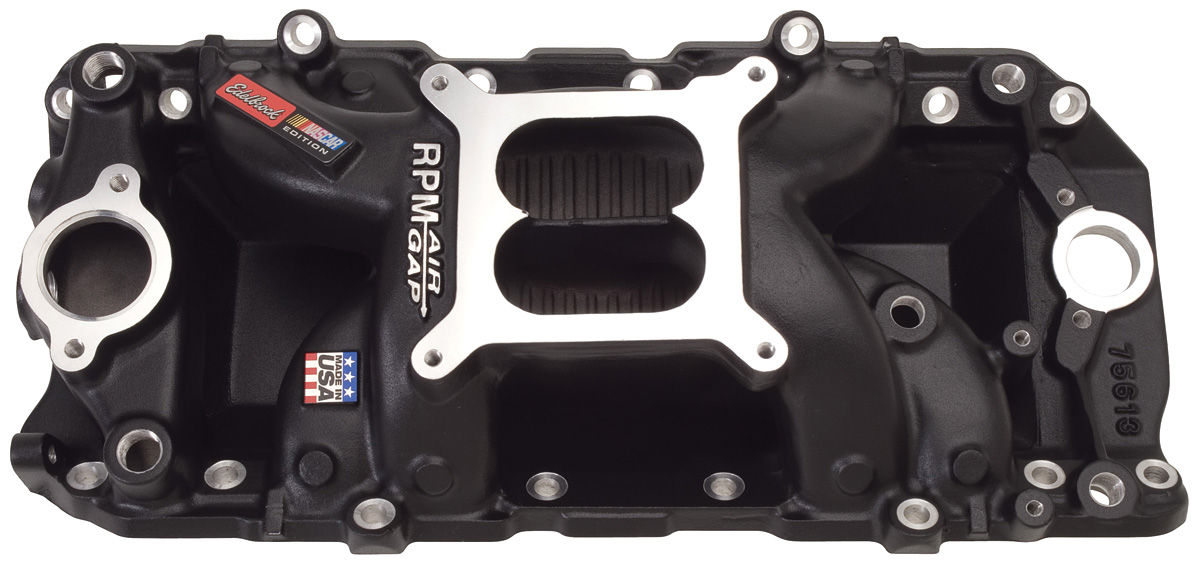 Intake Manifold, Edelbrock, RPM Air-Gap, 2-0 BB Chevy, Non-EGR