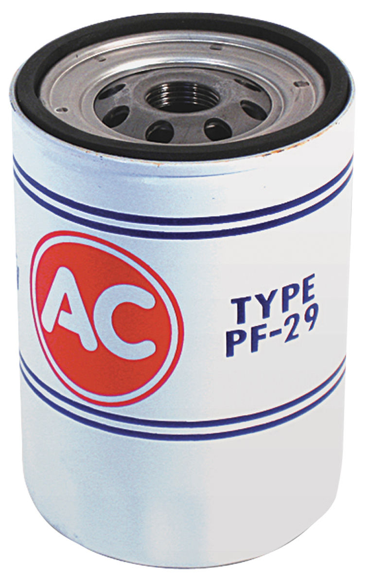 Oil Filter, AC Delco, 1968-69 Chevrolet, PF-29