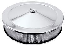 """Air Cleaner, Assembly, 14"""", Chrome"""