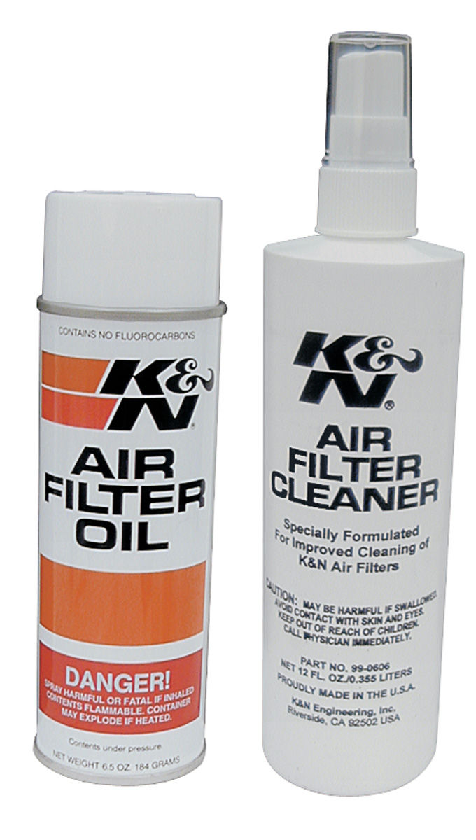 Service Kit, Air Filter, K&N