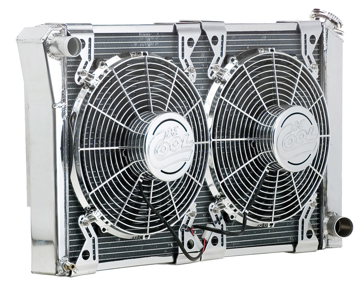 Cooling Module Assembly, Be Cool, 1968-72 CH/EC SB/BB/MT, 1000 HP, Show & Go