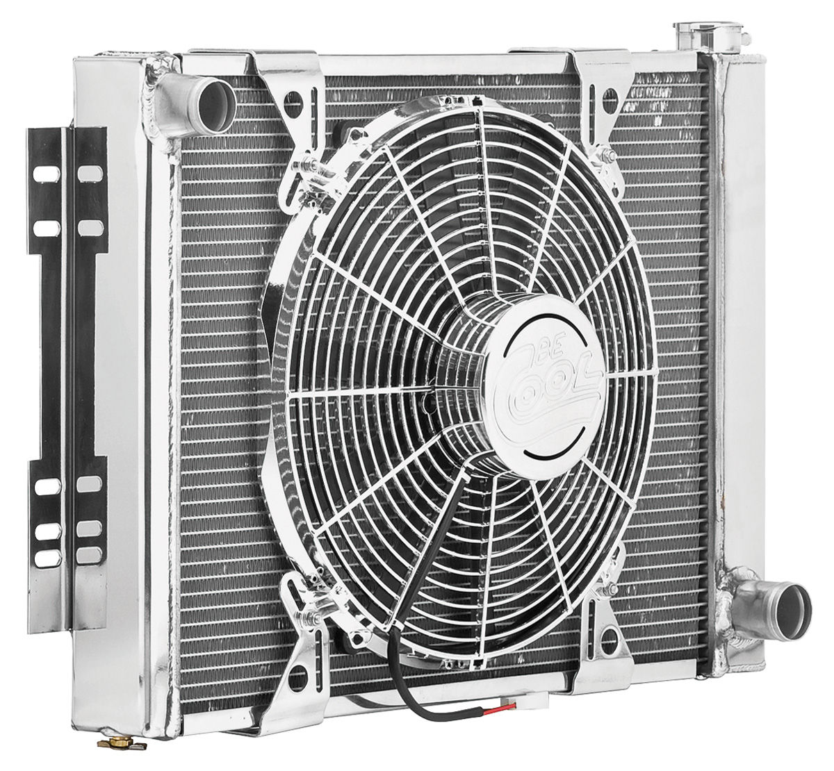 Cooling Module Assembly, Be Cool, 1964-65 CH/EC SB/MT, 400 HP, Show & Go