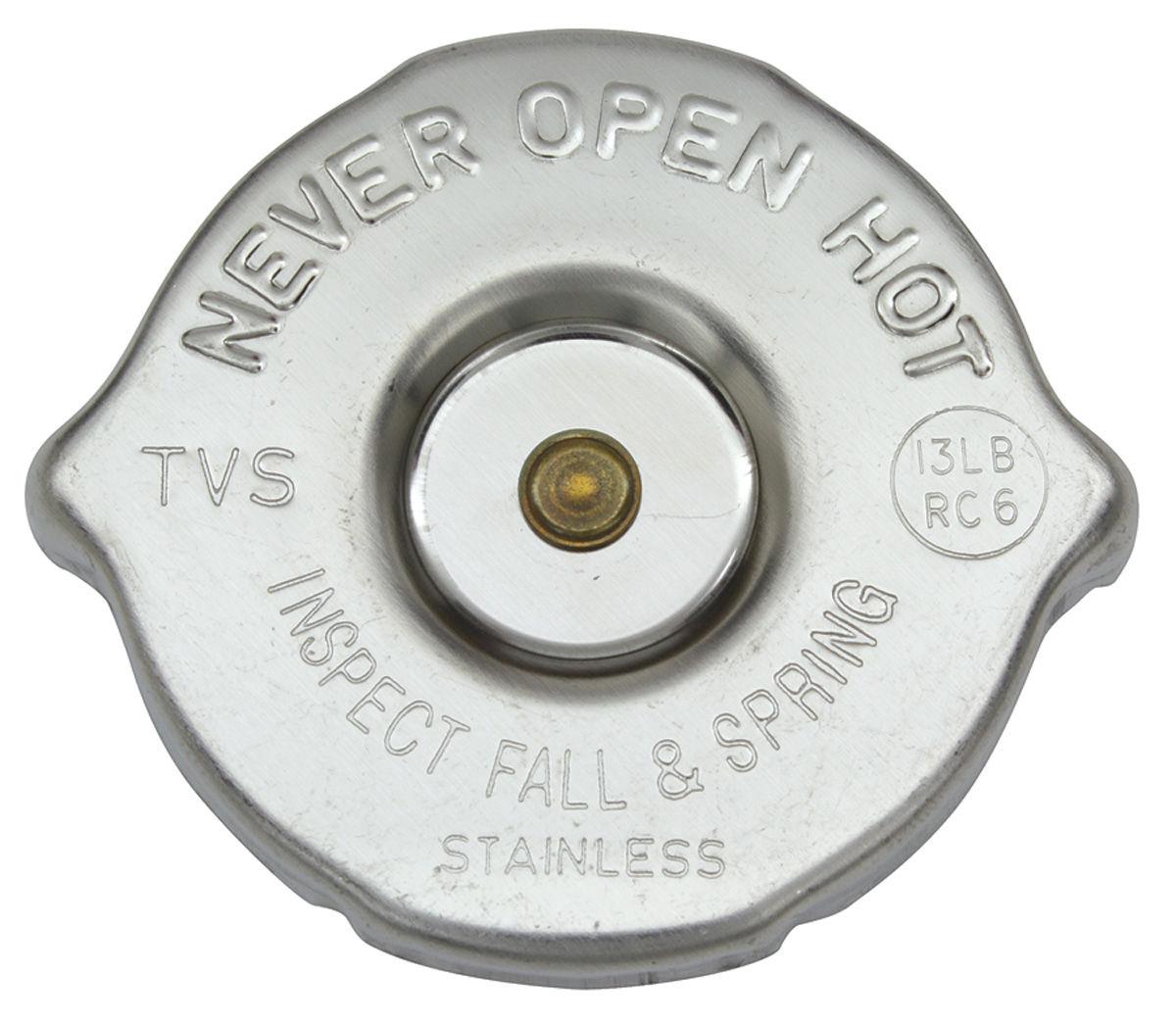 Radiator Cap, 54-69, RC6 13lb. Pressure