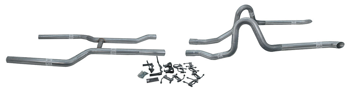 "Exhaust Kit, Flowmaster, 2-1/2"" w/o Mufflers"