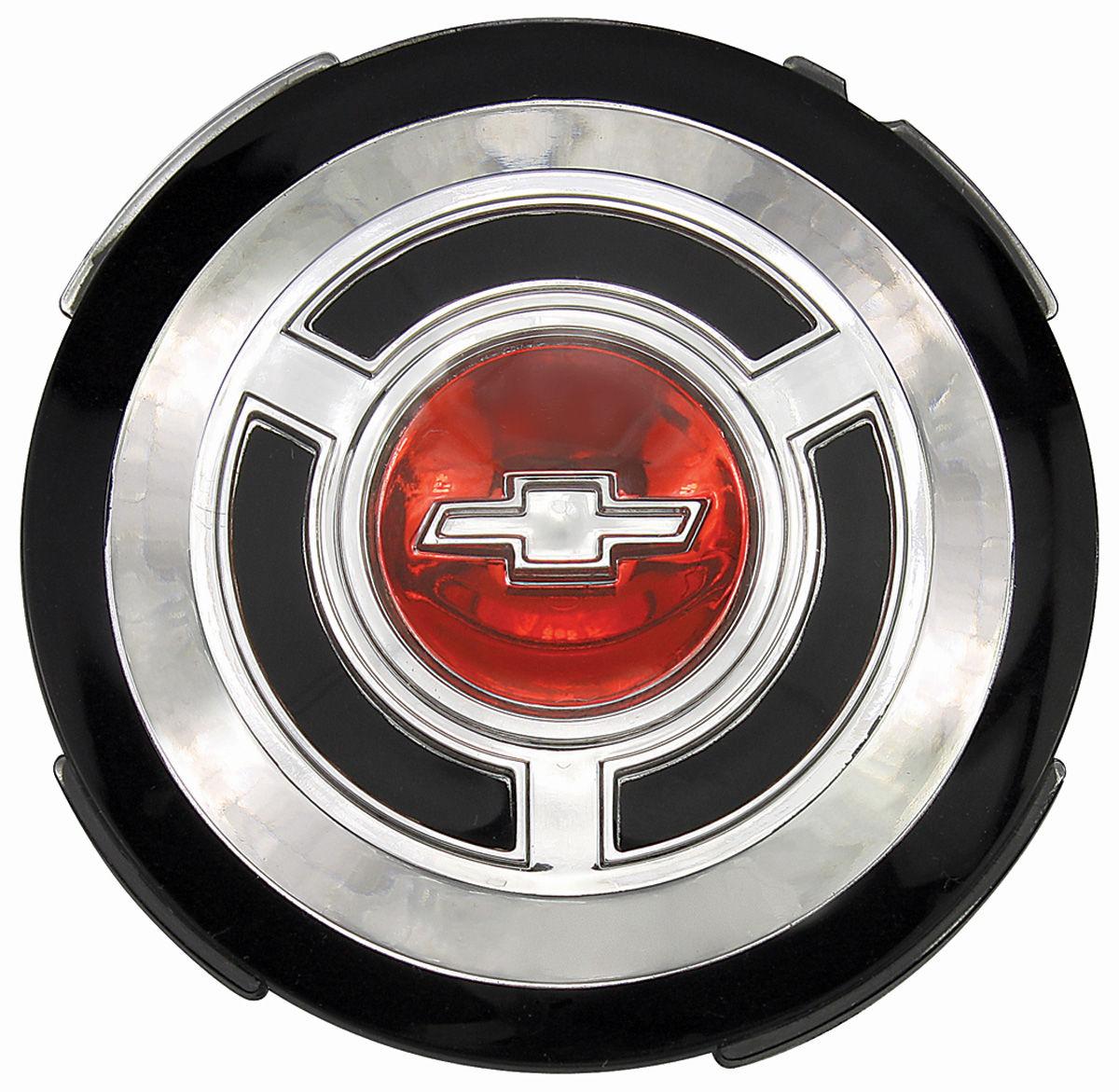 Emblem, Wheel Cover, 1965 Chevelle/El Camino, Standard