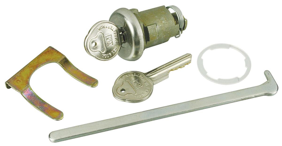 Lock Set, Trunk, 1961-68 GM, w/ Original Keys
