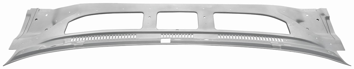 Cowl Grille Panel, 1970-72 A-Body, Outer, Weld-Thru Primer