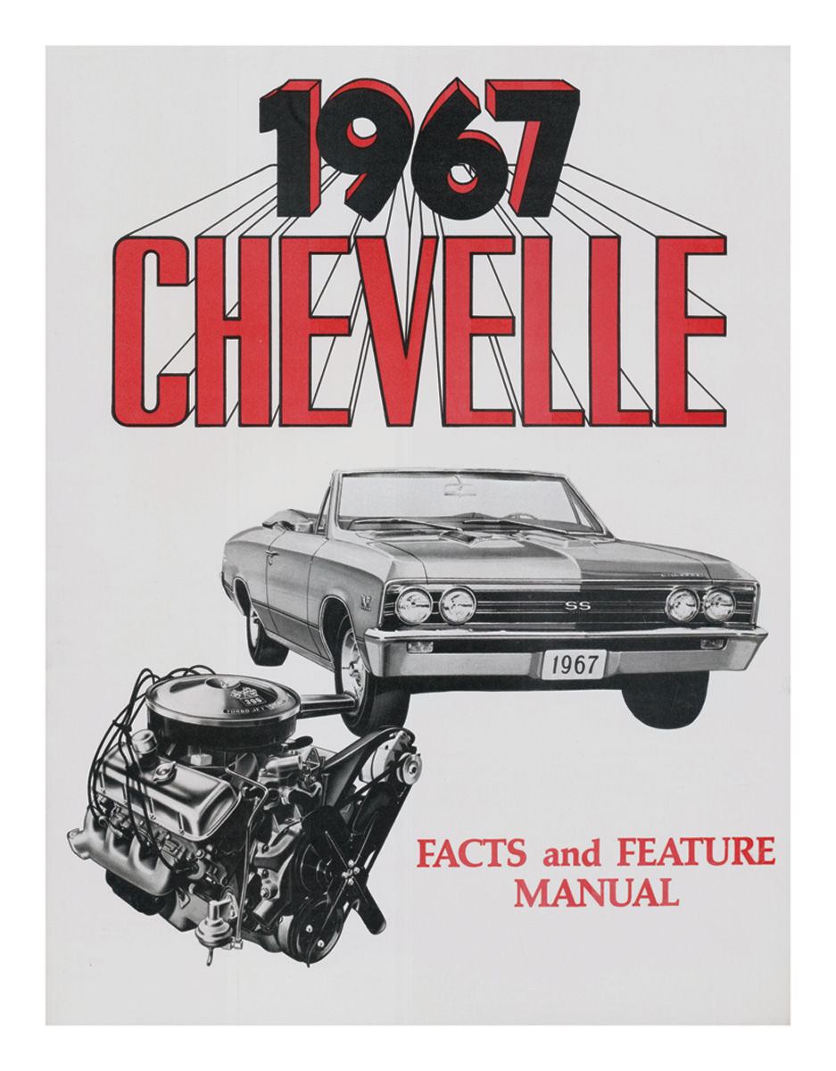 Owners Manuals For 1967 Chevelle   Opgi Com