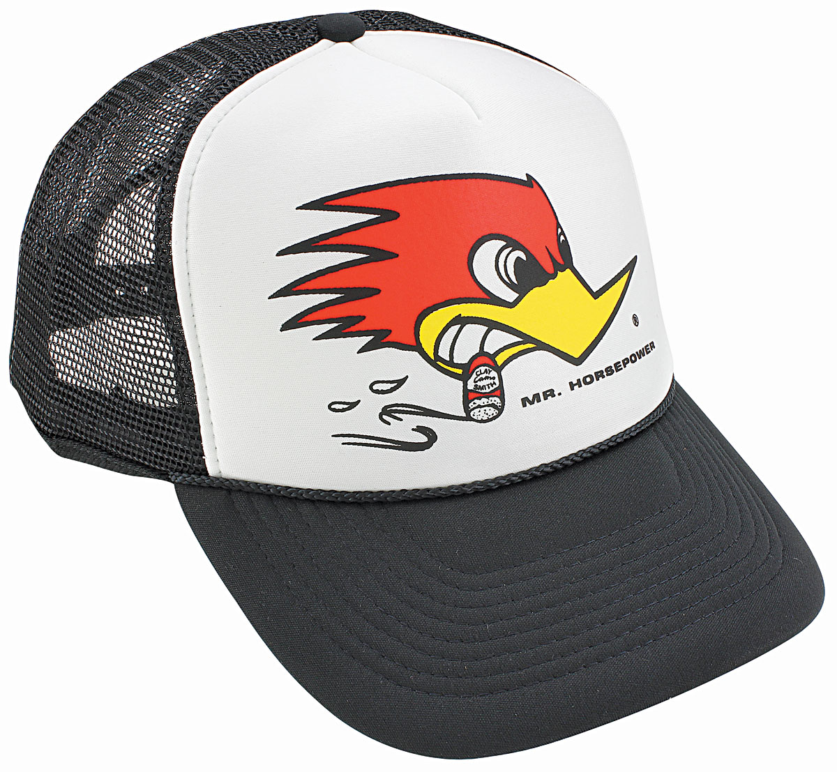 Hat, Trucker, Clay Smith, Mesh, Black