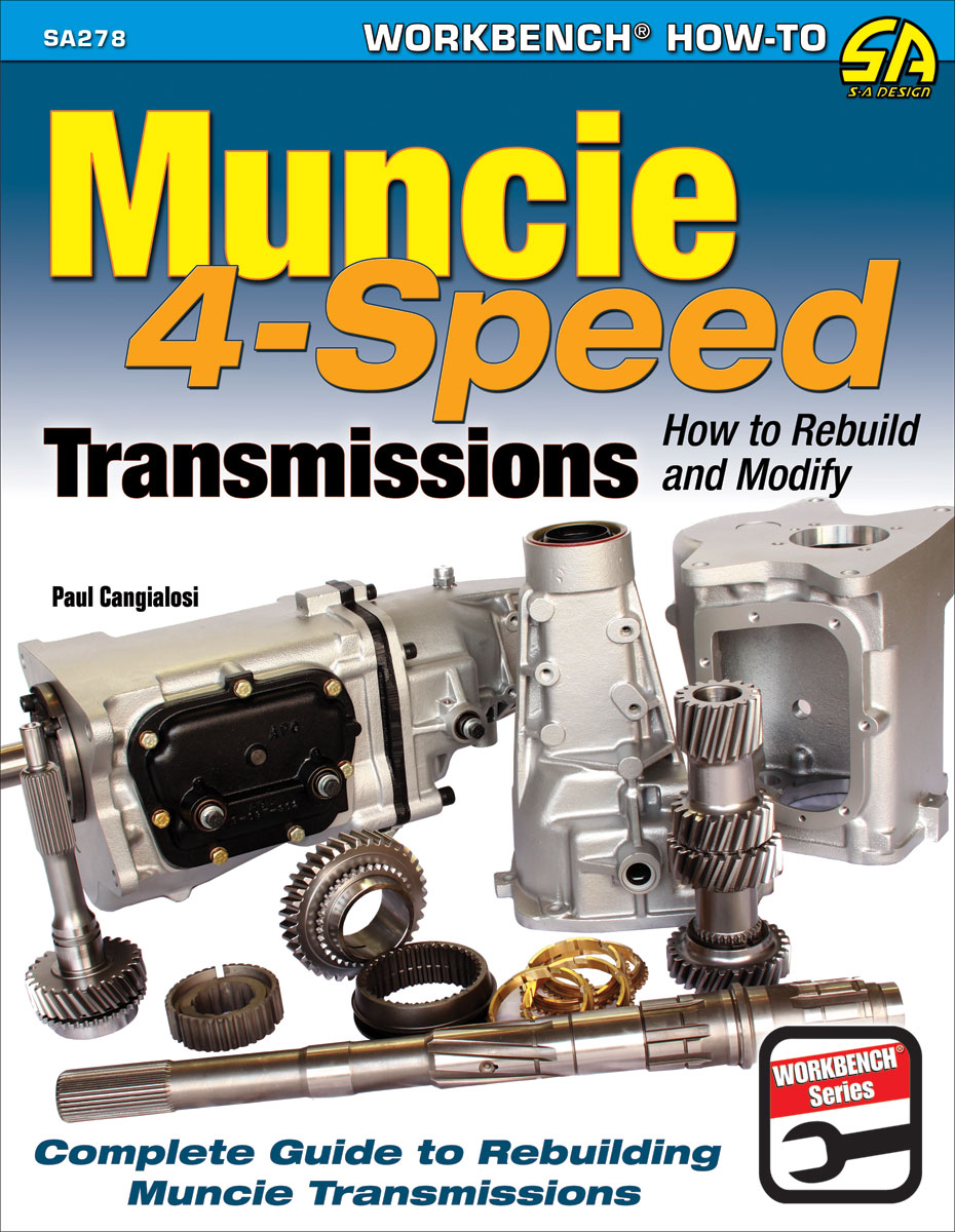 Book, How to Rebuild and Modify Muncie 4-Speed Transmissions