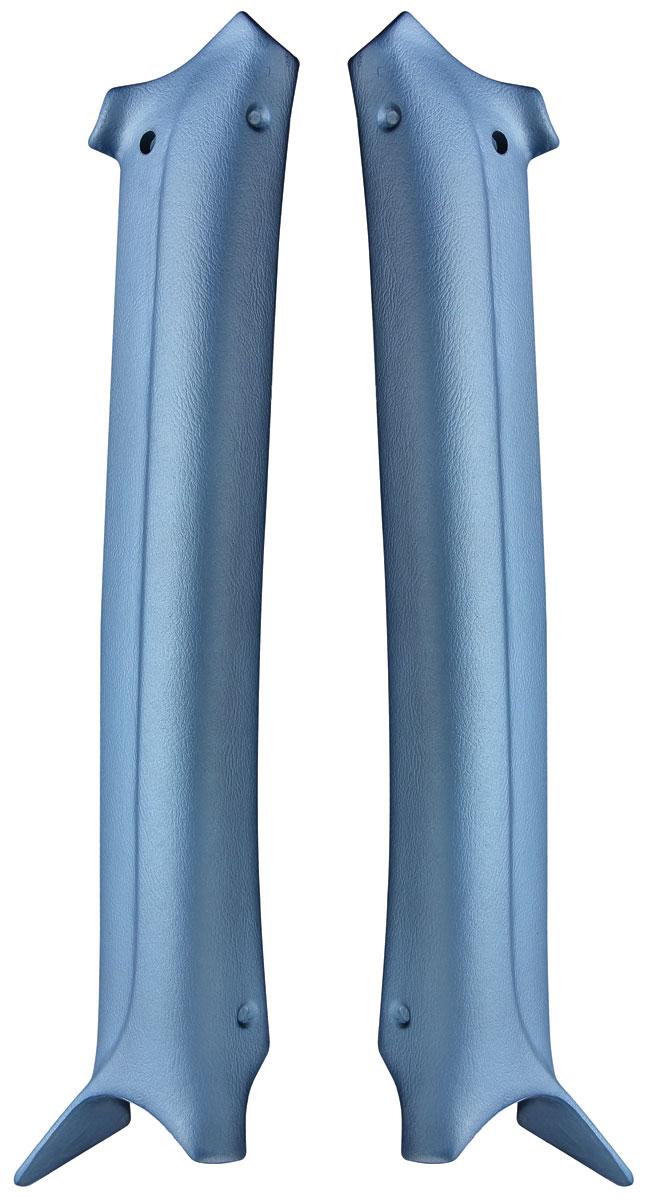 Pillar Pads, Interior, Molded 1968-69 A-Body Wagon
