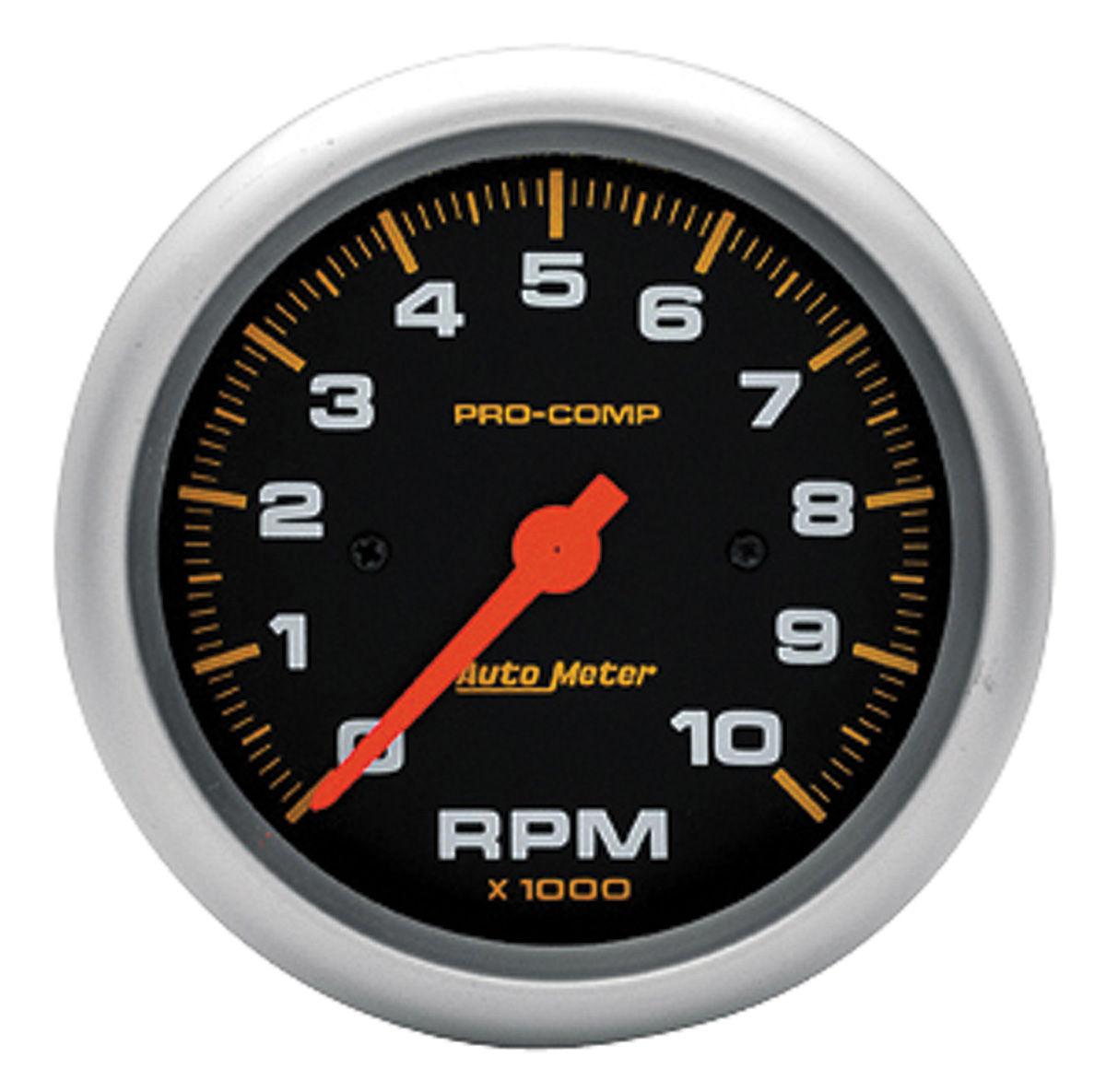 Gauge, Tachometer, Auto Meter, Pro-Comp, 3-3/8