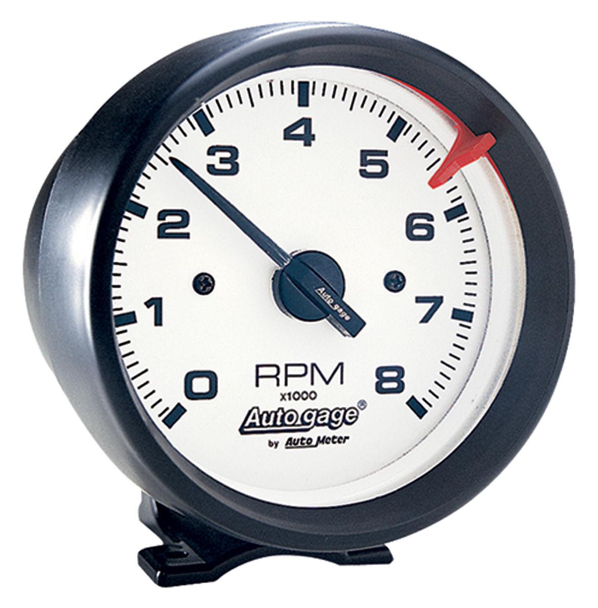 Gauge, Tachometer, Auto Meter, Auto Gage, 3-3/4