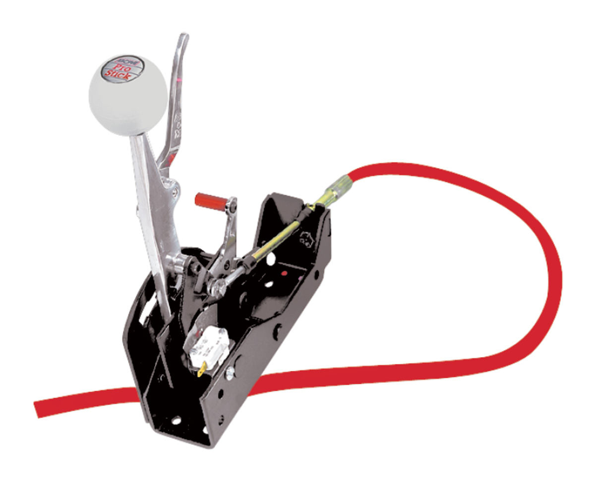 Shifter, B&M, Pro Stick, w/ Aluminum Cover