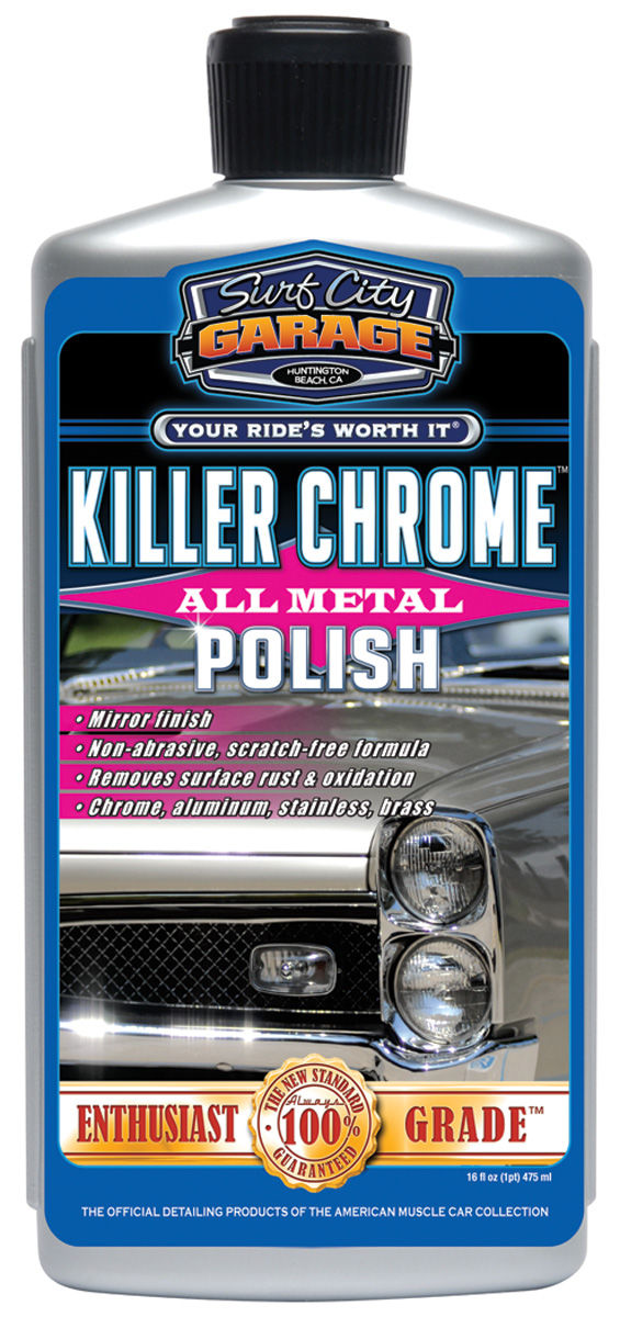 Polish, Killer Chrome, Surf City Garage, 16oz