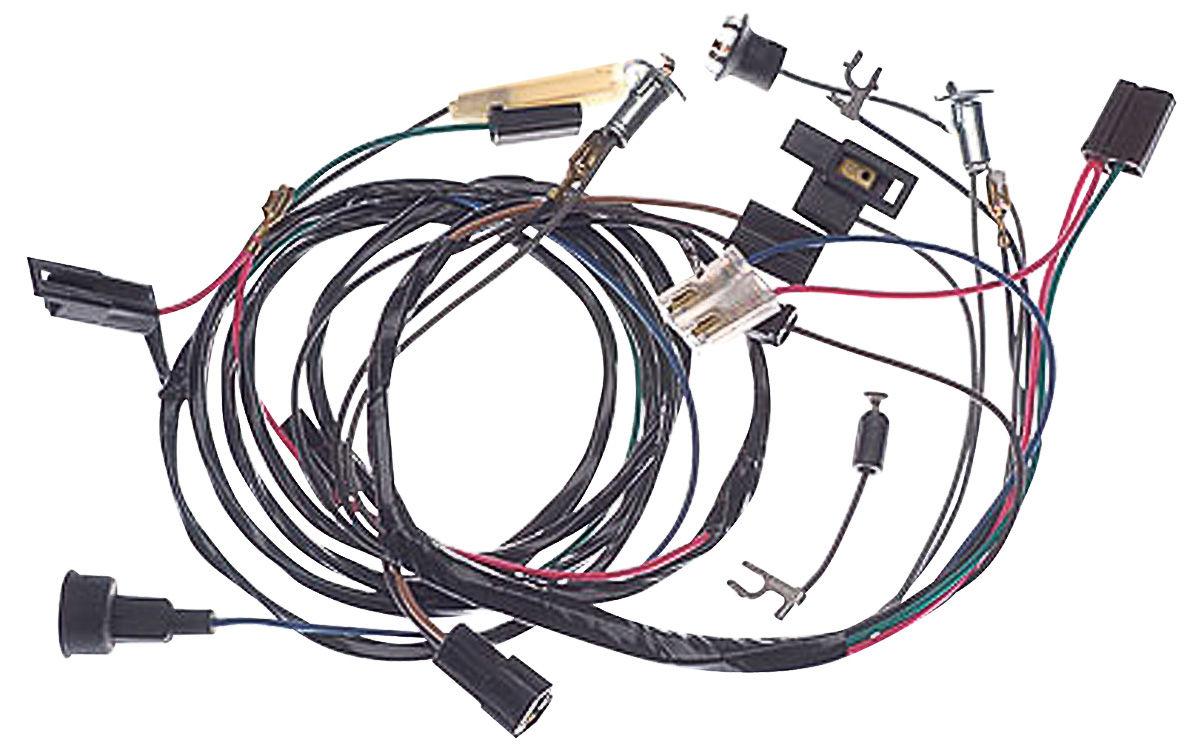 Wiring Harness, Rally Gauge Adapter, 1965 Lemans/Tempest ...