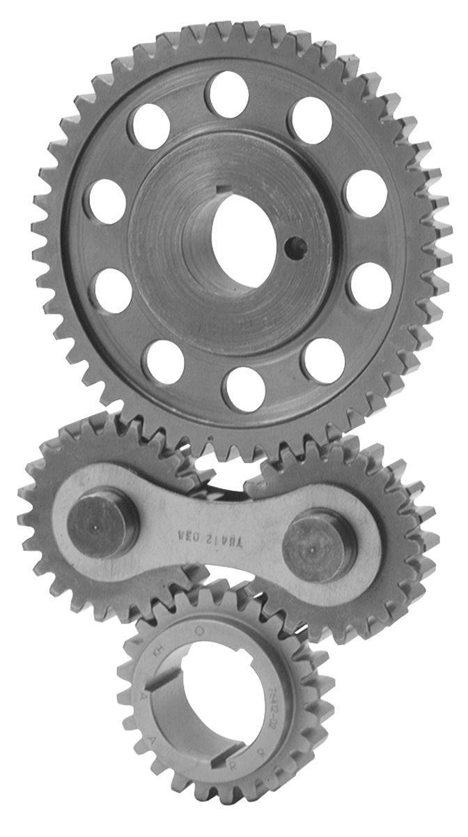 Gear Drive, Edelbrock, Pontiac 326-455
