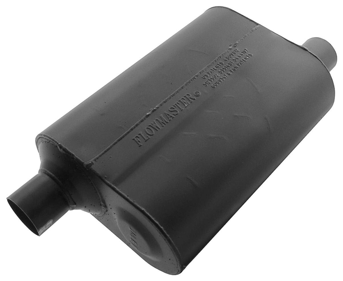 "Muffler, Flowmaster, Super 40 Series, 2-1/4"", Offset Inlet/Outlet"