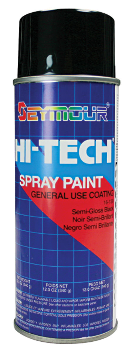 Paint, Dash/Console, Semi-Gloss Black, 12-oz.