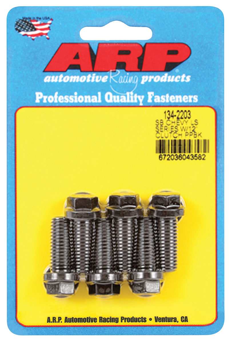 Bolts, Pressure Plate, LS Engine, 12