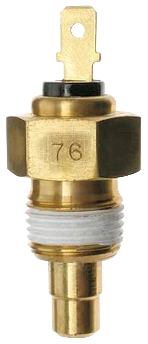 Temperature Sending Unit, 1980-88 Malibu/Monte Carlo/El Camino, V8, w/Gauges