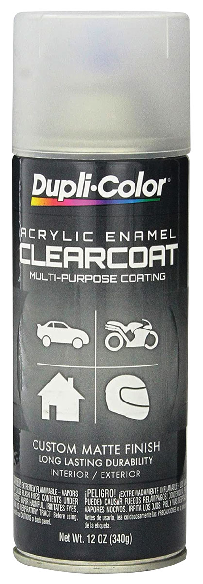 Paint, Trunk Spatter, Clearcoat, 12-oz.
