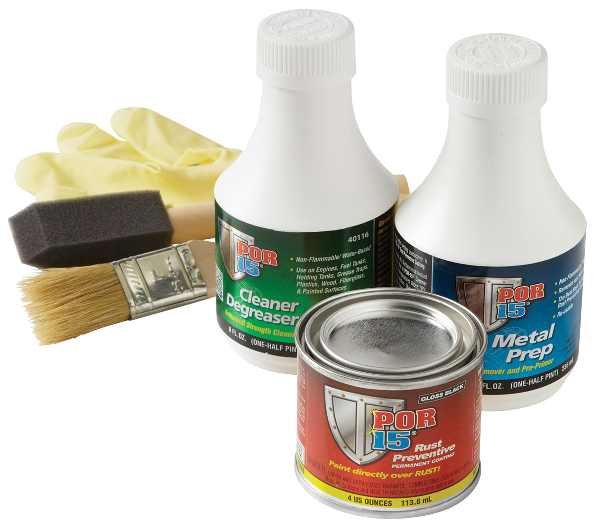 Paint, Super Starter Kit, POR-15