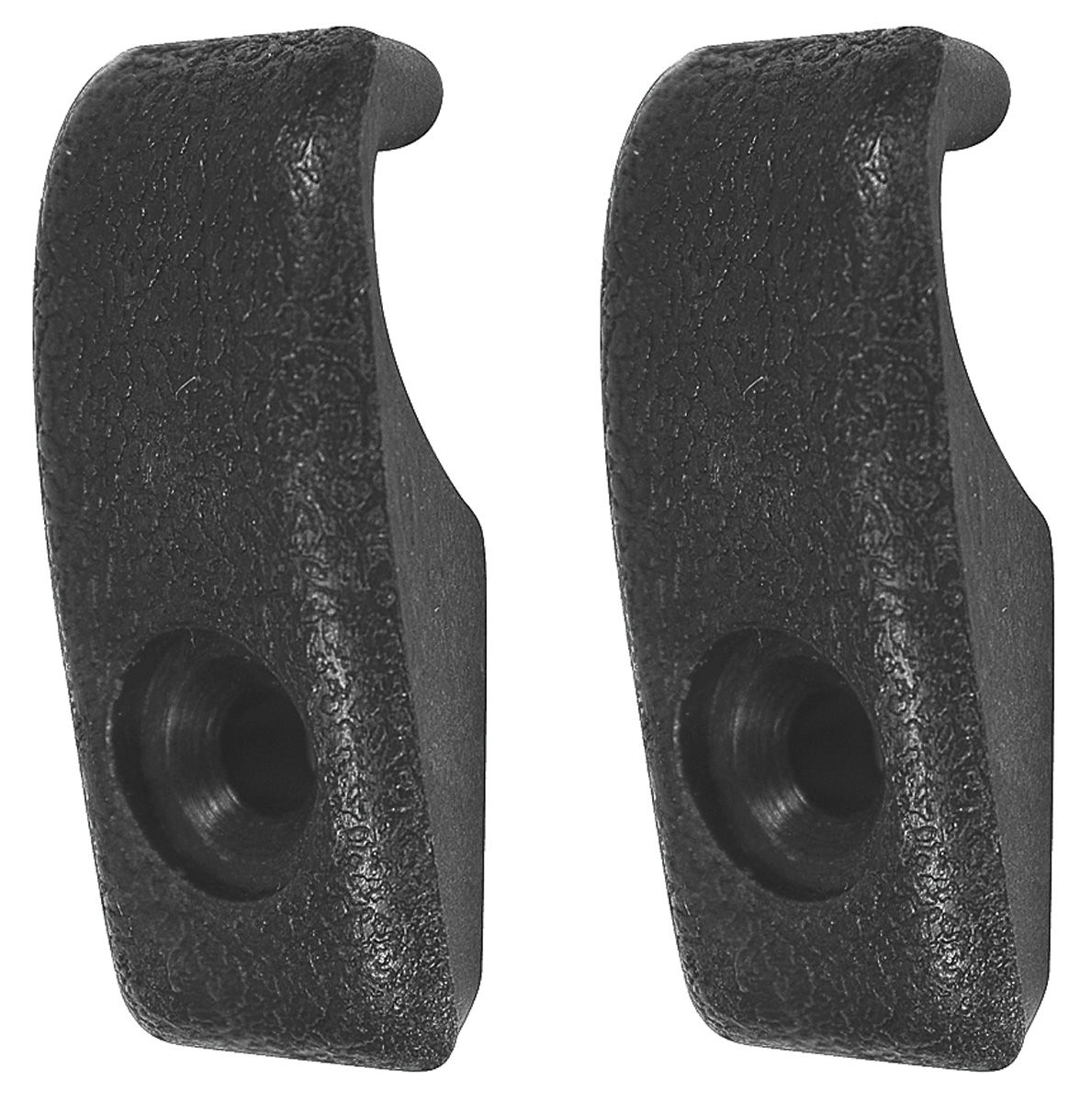 Coat Hook, Interior, 1964-78 GM, Black Plastic, Pair