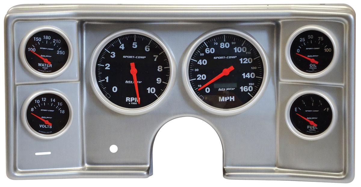 Gauge Conversion, Classic Dash 78-81 G-Body, Sport Comp, Electric