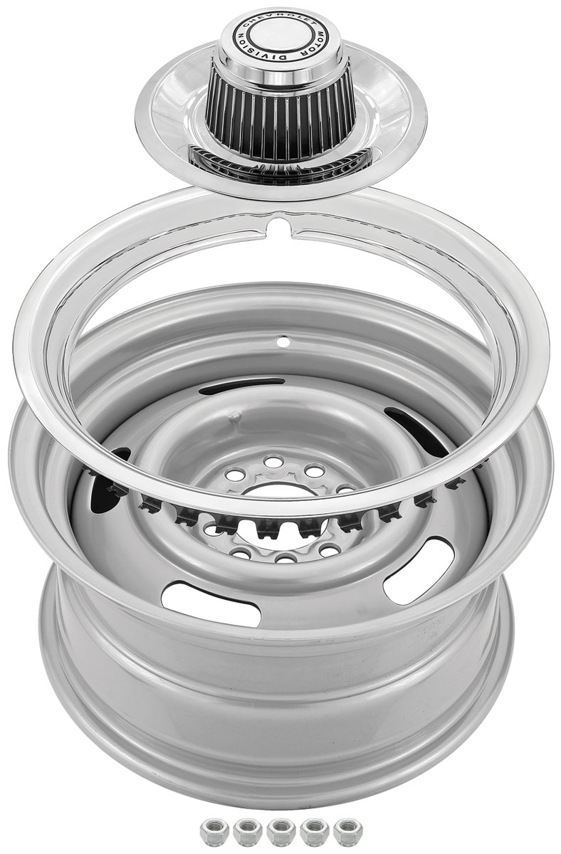 Wheel Kit, Chevrolet Rally Wheel, 14