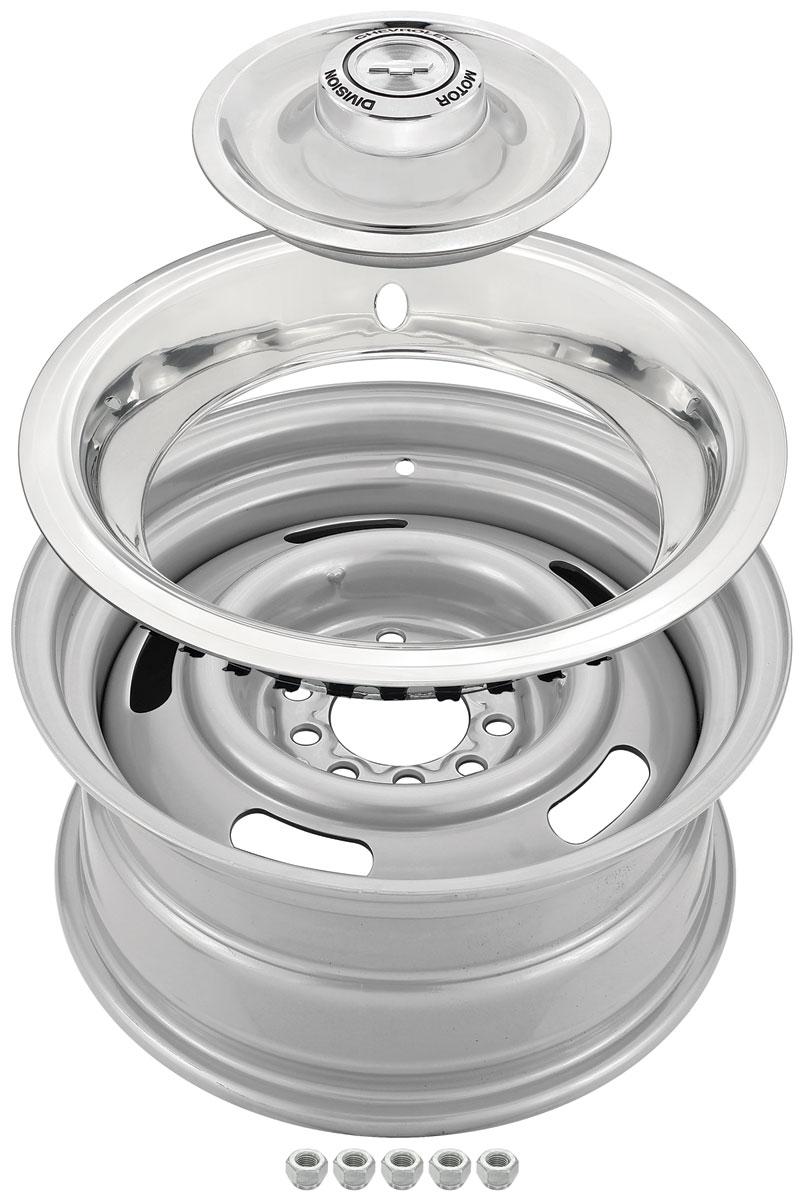 Wheel Kit, Chevrolet Rally Wheel, 15
