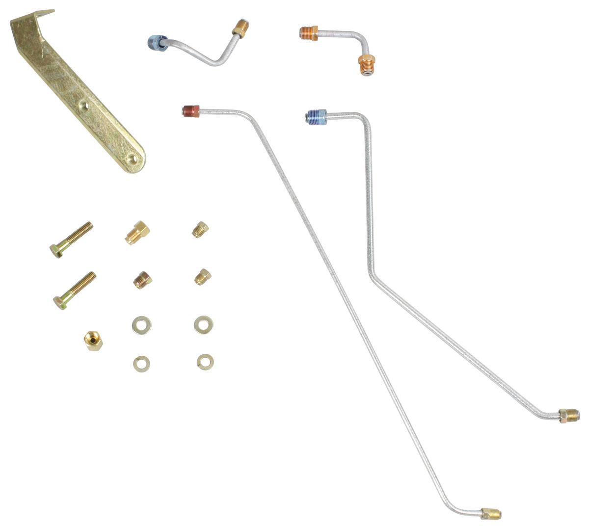 Conversion Line, Front Disc Brake, 1964-66 CH/EC/CUT/G/T/L, Kit