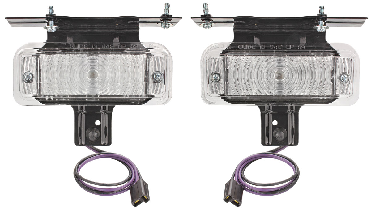 Assembly, Park Lamp, 1969 Chevelle/El Camino Non-SS, Pair