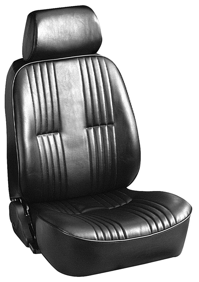 Seat, 1961-73 GM A Body, Procar, Lowback Bucket, w/headrest, Pair