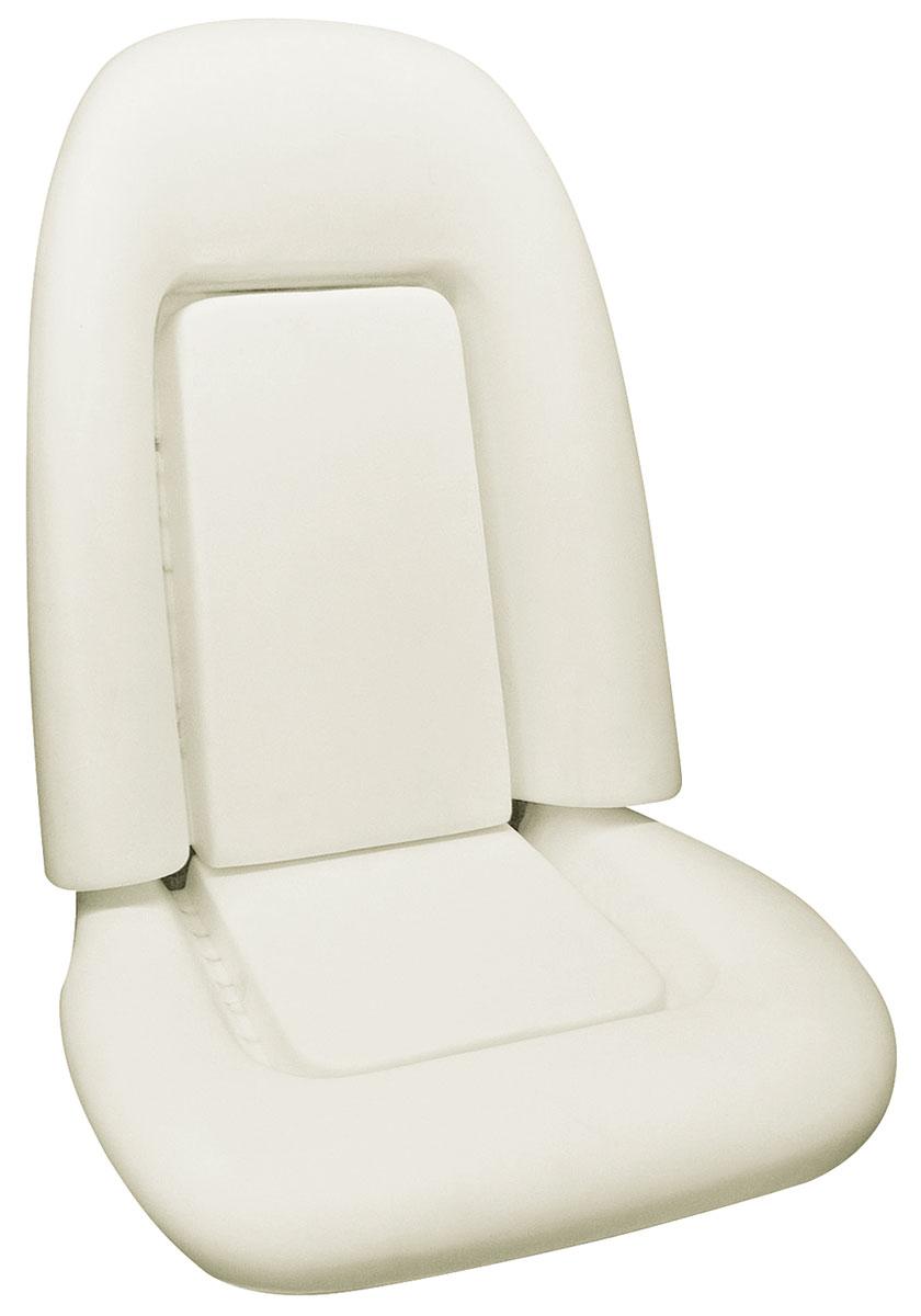 Seat Foam, 73-75 Bonn/Cat/GP, Bucket Seat, Standard