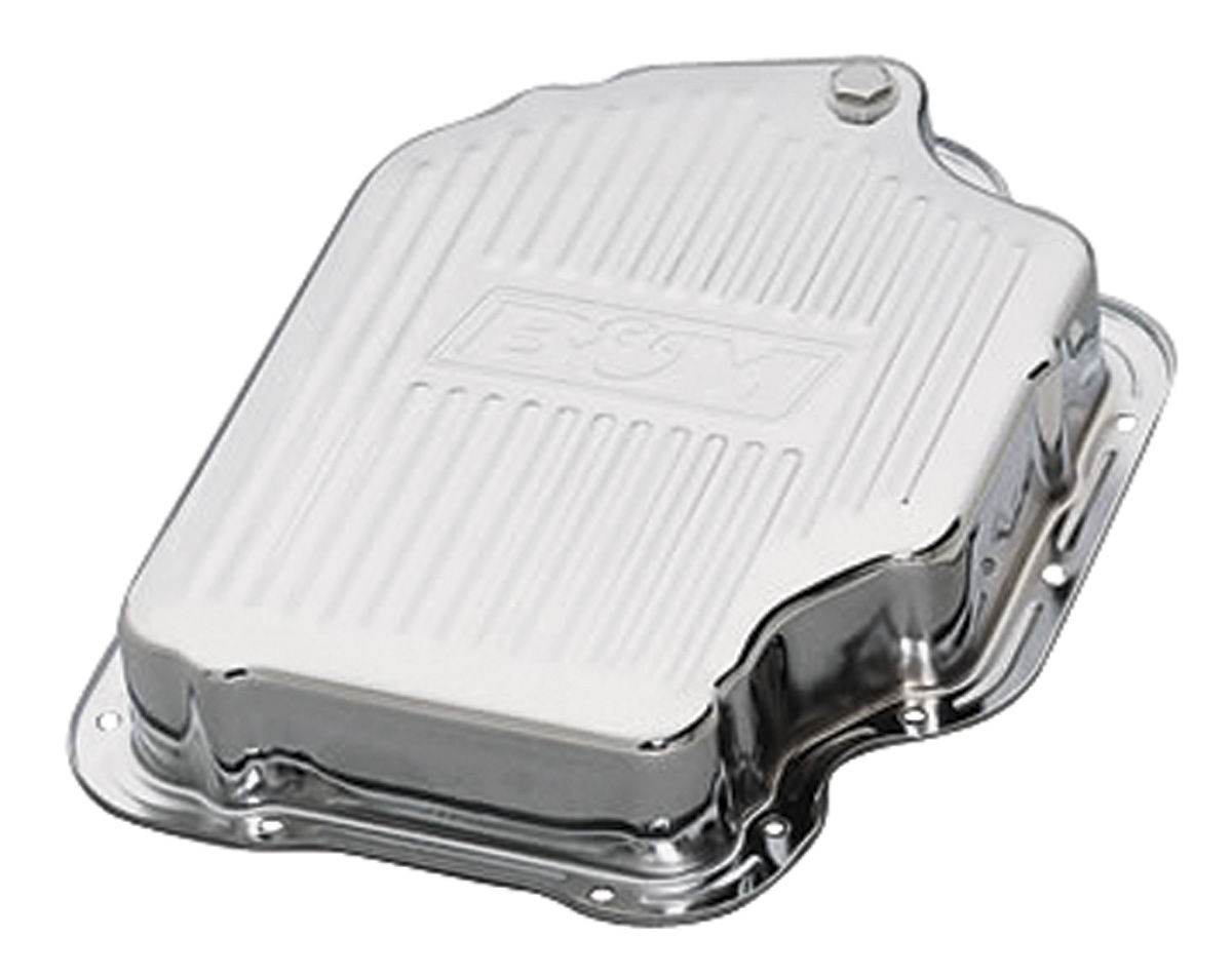 Transmission Pan, Chrome, B&M, TH400