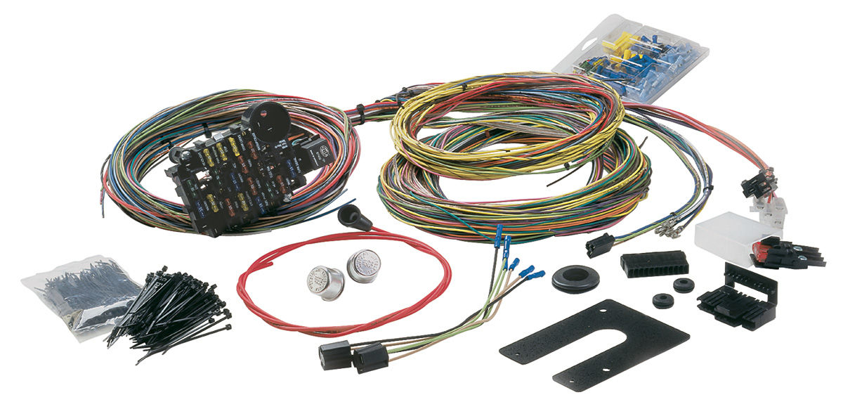 Wiring Harness, Painless Performance, 69-72 GM, 28-CIRCUIT on painless switch panel, painless fuse box, painless lt1 harness,