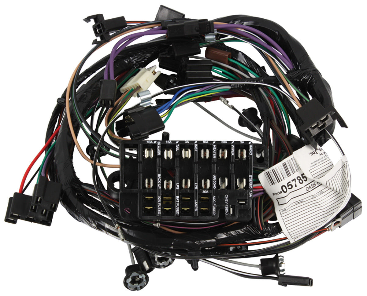 Wiring Harness, Dash, 1964 Chevelle/El Camino, SS Gauges @ OPGI.comOriginal Parts Group